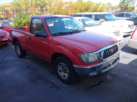 2001 Toyota Tacoma for sale at LAND & SEA BROKERS INC in Deerfield FL