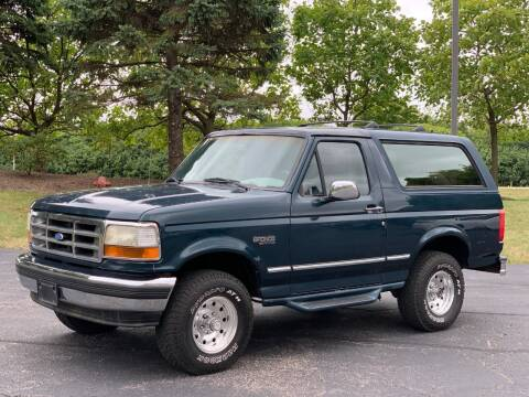 1995 Ford Bronco for sale at All Star Car Outlet in East Dundee IL