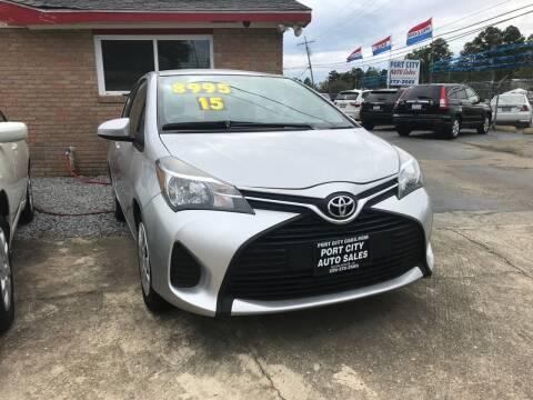 2015 Toyota Yaris for sale at Port City Auto Sales in Baton Rouge LA