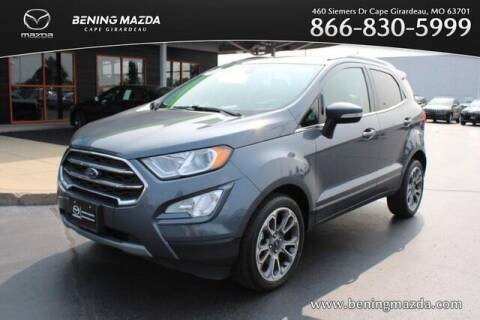 2019 Ford EcoSport for sale at Bening Mazda in Cape Girardeau MO