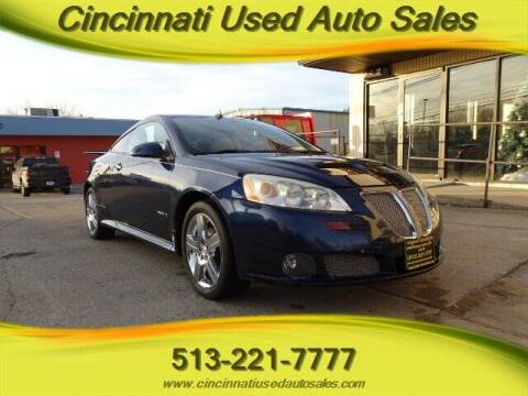 2008 Pontiac G6 for sale at Cincinnati Used Auto Sales in Cincinnati OH