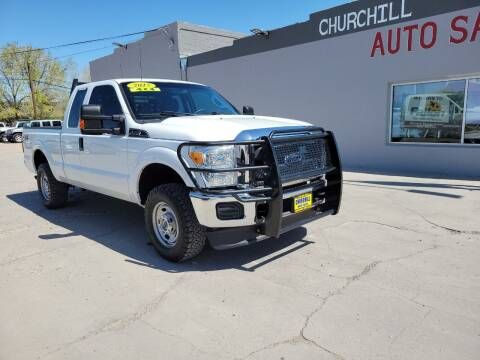 2015 Ford F-250 Super Duty for sale at CHURCHILL AUTO SALES in Fallon NV