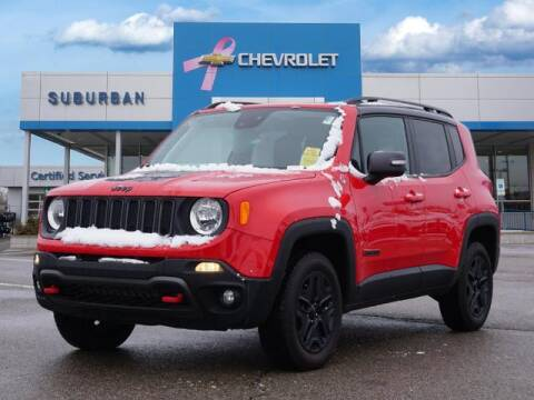2018 Jeep Renegade for sale at Suburban Chevrolet of Ann Arbor in Ann Arbor MI
