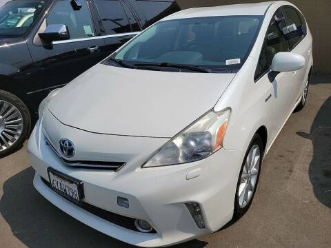 2013 Toyota Prius v for sale at Hi5 Auto in Fremont CA