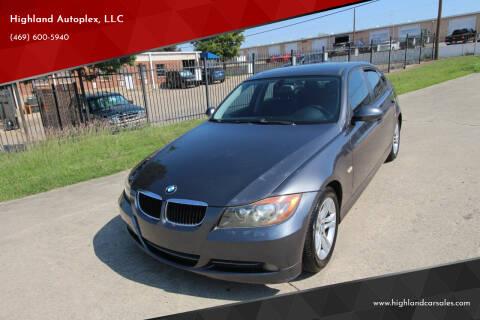 2008 BMW 3 Series for sale at Highland Autoplex, LLC in Dallas TX