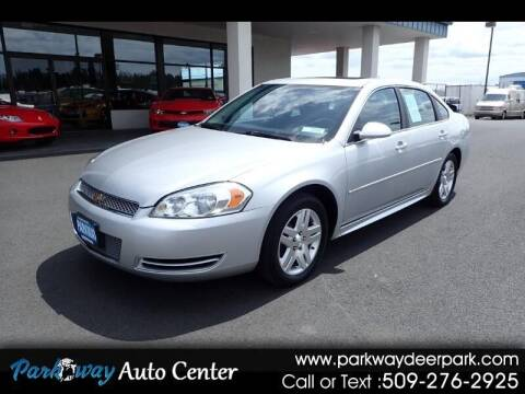 2013 Chevrolet Impala for sale at PARKWAY AUTO CENTER AND RV in Deer Park WA