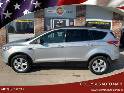 2014 Ford Escape for sale at Columbus Auto Mart in Columbus NE