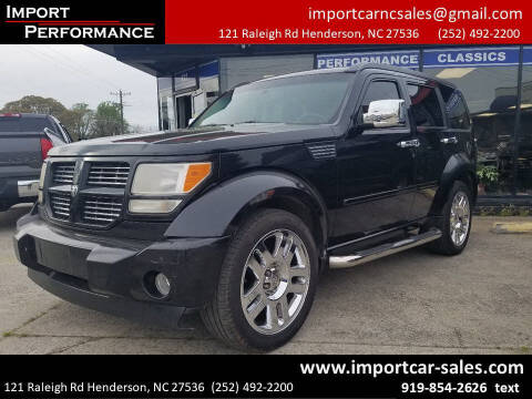 2008 Dodge Nitro for sale at Import Performance Sales - Henderson in Henderson NC