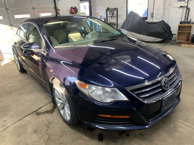 2012 Volkswagen CC for sale at QUINN'S AUTOMOTIVE in Leominster MA