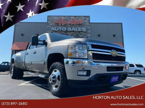 2013 Chevrolet Silverado 3500HD for sale at HORTON AUTO SALES, LLC in Linn MO