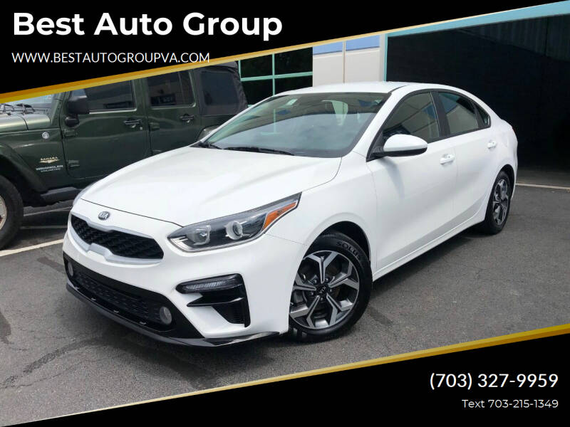 2019 Kia Forte for sale at Best Auto Group in Chantilly VA
