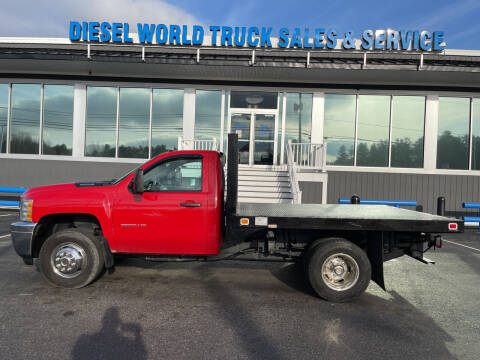 2013 Chevrolet Silverado 3500HD CC for sale at Diesel World Truck Sales in Plaistow NH