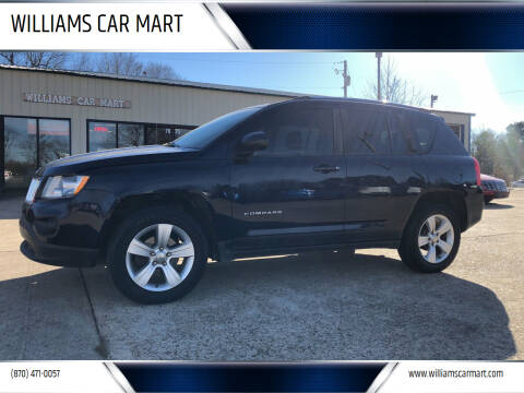 2012 Jeep Compass for sale at WILLIAMS CAR MART in Gassville AR