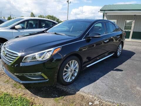 2015 Hyundai Sonata for sale at Pack's Peak Auto in Hillsboro OH