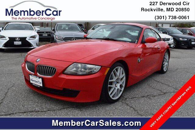 2008 BMW Z4 for sale at MemberCar in Rockville MD
