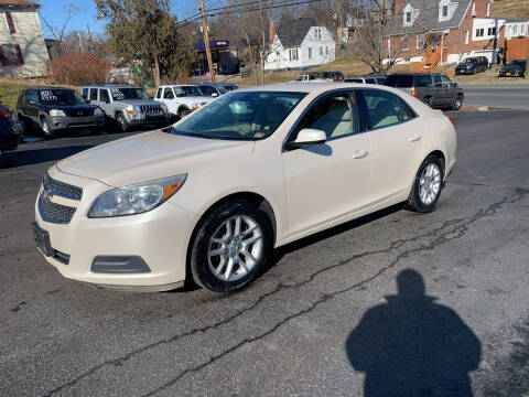 2013 Chevrolet Malibu for sale at KP'S Cars in Staunton VA
