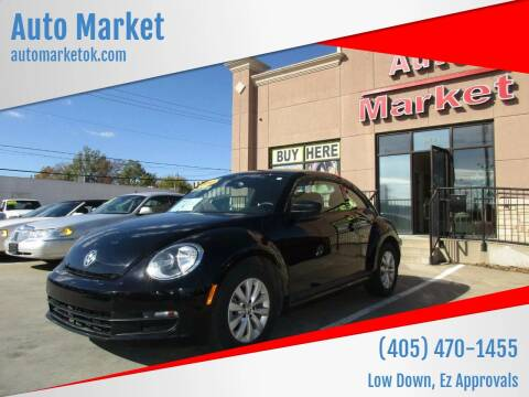 2013 Volkswagen Beetle for sale at Auto Market in Oklahoma City OK