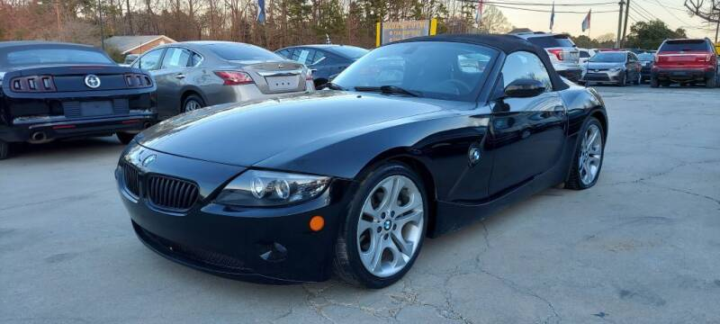 2005 BMW Z4 for sale at DADA AUTO INC in Monroe NC