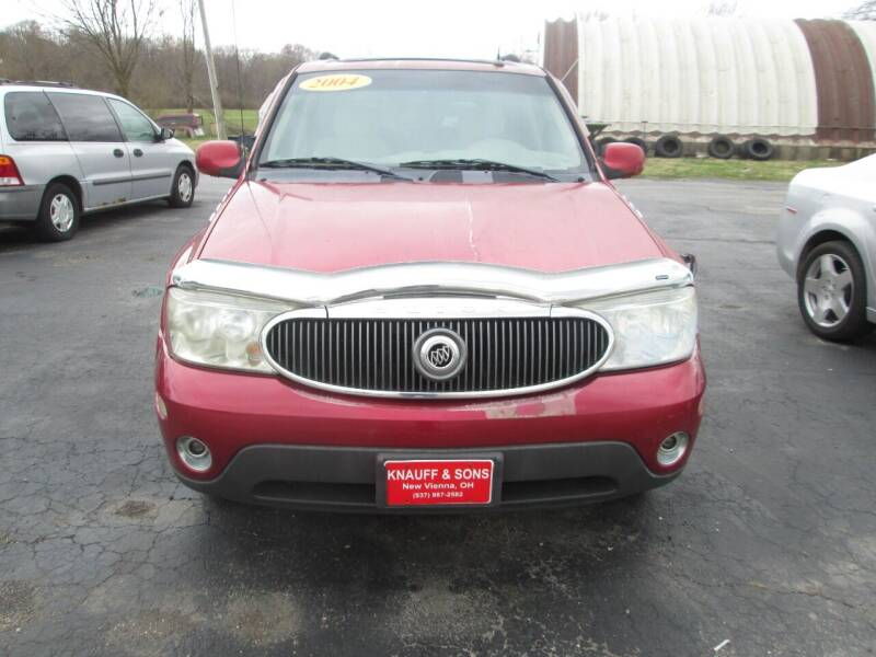 2004 Buick Rainier for sale at Knauff & Sons Motor Sales in New Vienna OH