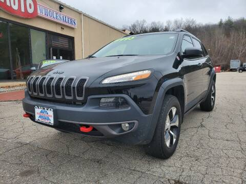 2018 Jeep Cherokee for sale at Auto Wholesalers Of Hooksett in Hooksett NH