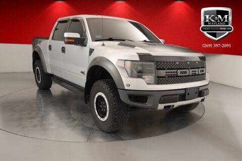 2013 Ford F-150 for sale at K&M Wayland Chrysler  Dodge Jeep Ram in Wayland MI