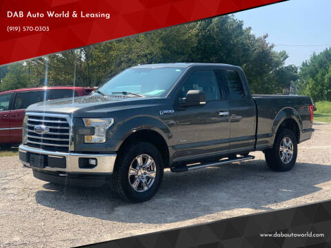 2015 Ford F-150 for sale at DAB Auto World & Leasing in Wake Forest NC