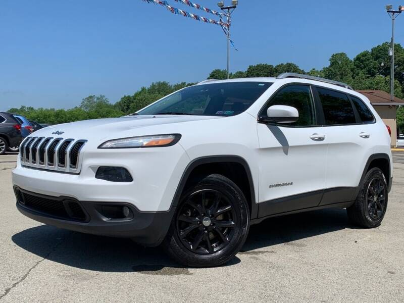 2014 Jeep Cherokee for sale at Elite Motors in Uniontown PA