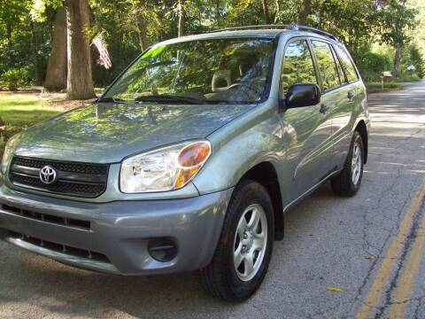 2004 Toyota RAV4 for sale at Edgewater of Mundelein Inc in Wauconda IL