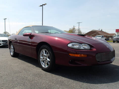 2002 Chevrolet Camaro for sale at TAPP MOTORS INC in Owensboro KY