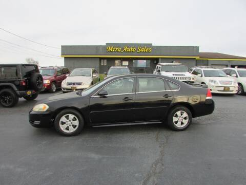 2010 Chevrolet Impala for sale at MIRA AUTO SALES in Cincinnati OH