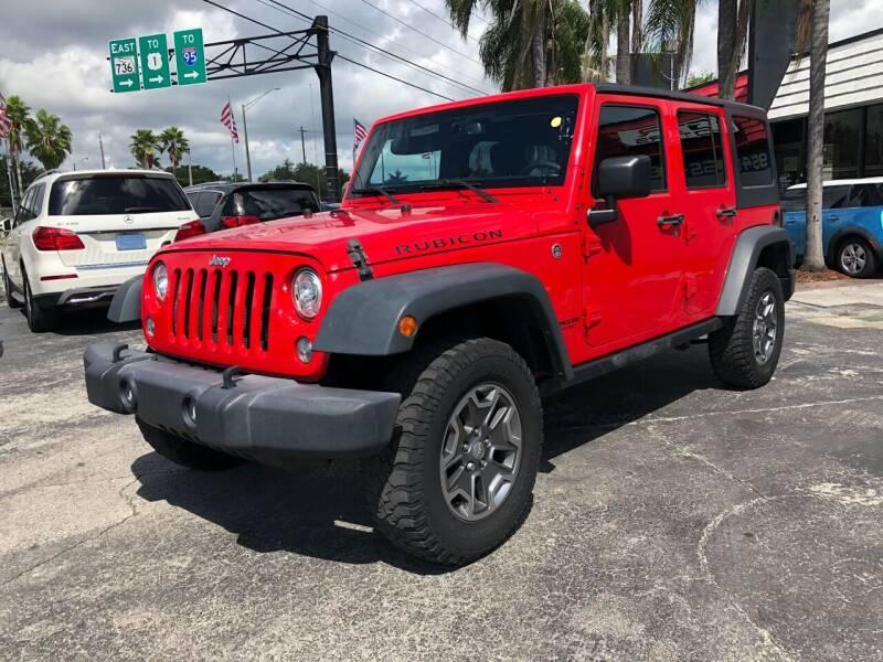 2017 Jeep Wrangler Unlimited for sale at Gtr Motors in Fort Lauderdale FL