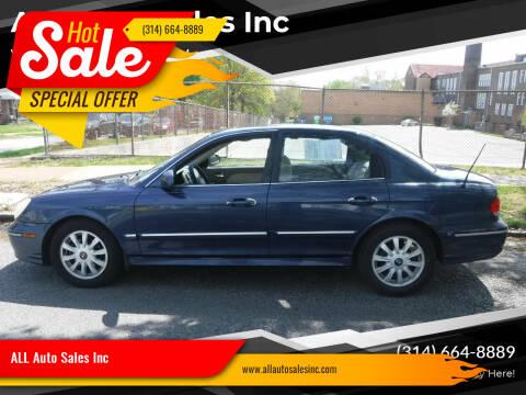 2005 Hyundai Sonata for sale at ALL Auto Sales Inc in Saint Louis MO