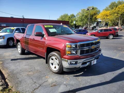 2015 Chevrolet Silverado 1500 for sale at Stach Auto in Janesville WI