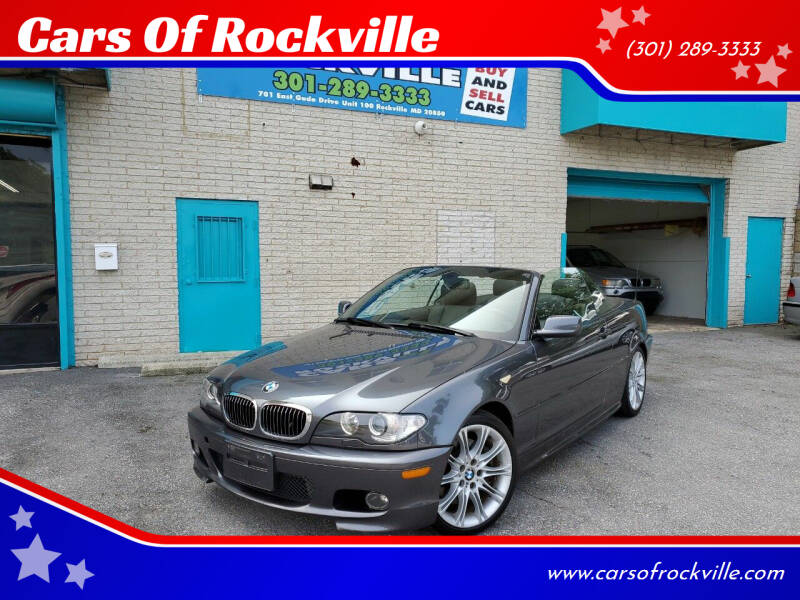 2006 BMW 3 Series for sale at Cars Of Rockville in Rockville MD