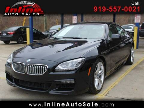 2013 BMW 6 Series for sale at Inline Auto Sales in Fuquay Varina NC