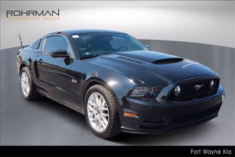 2013 Ford Mustang for sale at BOB ROHRMAN FORT WAYNE TOYOTA in Fort Wayne IN