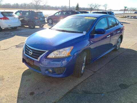 2013 Nissan Sentra for sale at River Motors in Portage WI