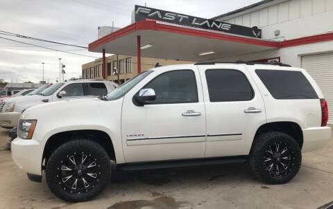 2012 Chevrolet Tahoe for sale at FAST LANE AUTO SALES in San Antonio TX