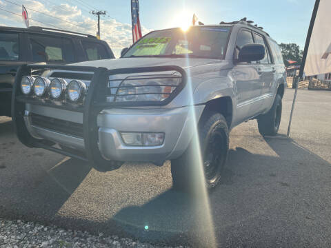 2004 Toyota 4Runner for sale at Cars for Less in Phenix City AL