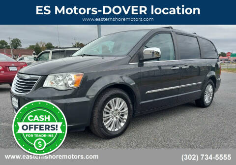 2012 Chrysler Town and Country for sale at ES Motors-DAGSBORO location - Dover in Dover DE