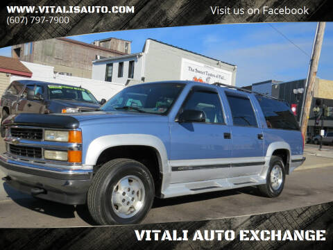 1995 Chevrolet Suburban for sale at VITALI AUTO EXCHANGE in Johnson City NY