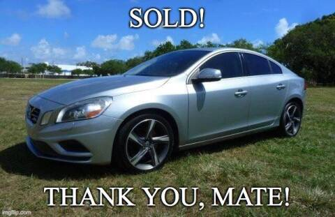 2013 Volvo S60 for sale at VehicleVille in Fort Lauderdale FL