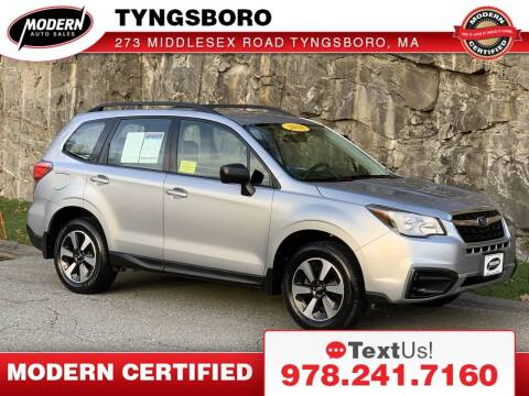 2018 Subaru Forester for sale at Modern Auto Sales in Tyngsboro MA