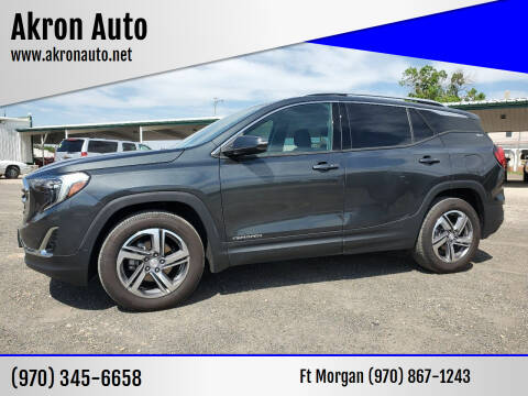 2018 GMC Terrain for sale at Akron Auto - Fort Morgan in Fort Morgan CO