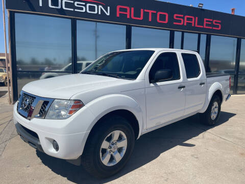 2012 Nissan Frontier for sale at Tucson Auto Sales in Tucson AZ