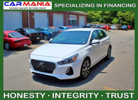2018 Hyundai Elantra GT for sale at CARMANIA LLC in Chesapeake VA