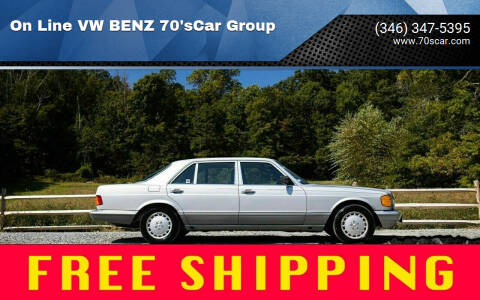 1987 Mercedes-Benz 300-Class for sale at On Line VW BENZ 70'sCar Group in Warehouse CA