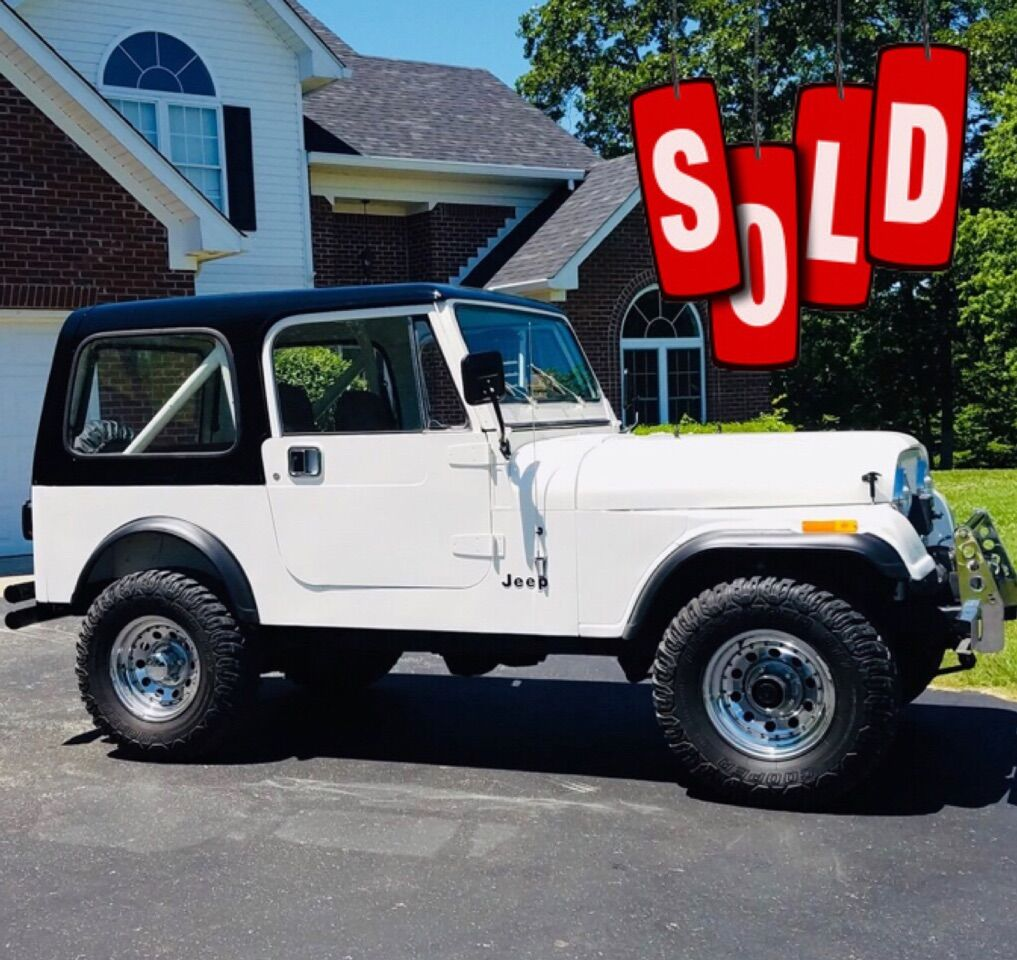1986 Jeep CJ-7 SOLD SOLD SOLD