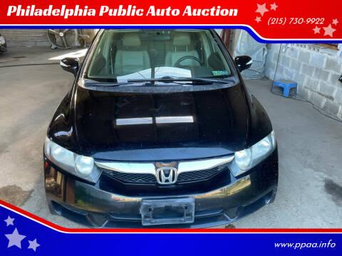 2009 Honda Civic for sale at Philadelphia Public Auto Auction in Philadelphia PA