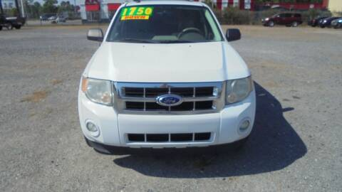 2012 Ford Escape for sale at Auto Mart - Moncks Corner in Moncks Corner SC